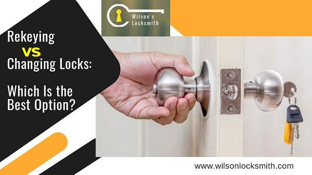 Rekeying vs Changing locks
