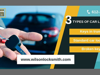 Be Acquainted with 3 Types of Car Lockouts And Its Solution