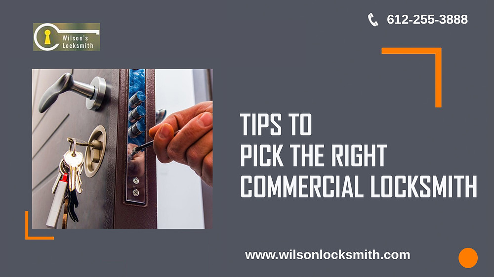 tips to pick the right locksmith