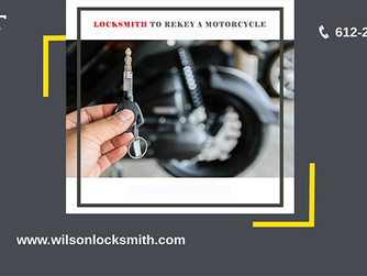 Here Is All About Rekeying A Motorcycle Done by A Locksmith