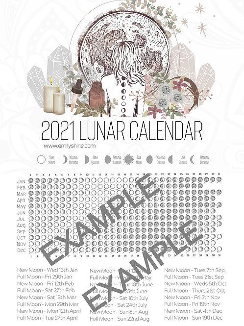 Lunar Calendar 2020