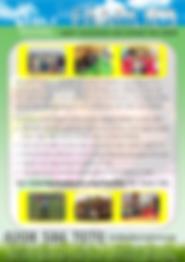 Families Project leaflet design  FRONT F
