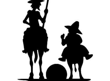 Don Quichot en de windmolens