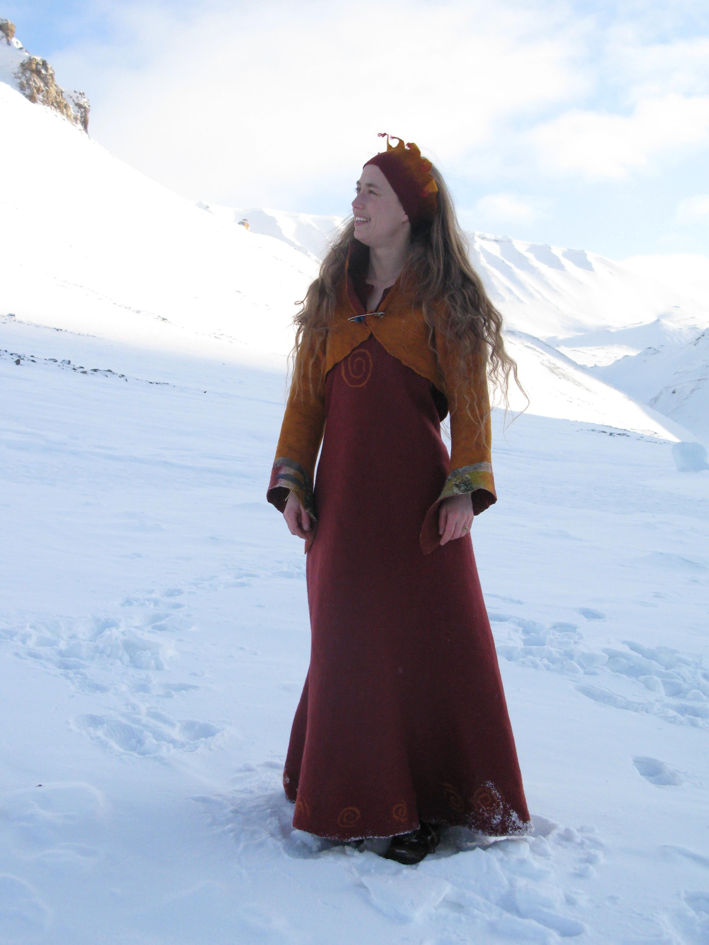 Jorden kjerne kjole