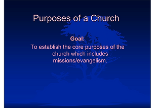Getting a missional church on mission!