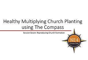 Training series for a church planting/missionary team to help discipleships groups amongst your target people group become healthy, reproducing churches.
