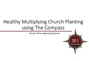 Training series for a church planting/missionary team to enter among their target area/people group well.