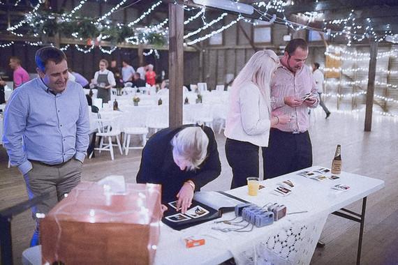 guests signing album