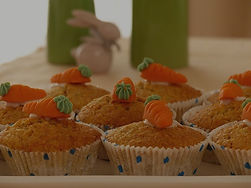 Protein Carrot Muffins