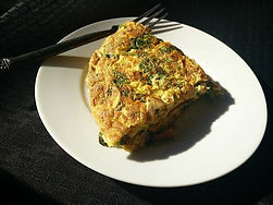 Ham and Spinach Omelet
