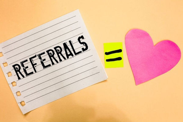 Online reviews and referrals