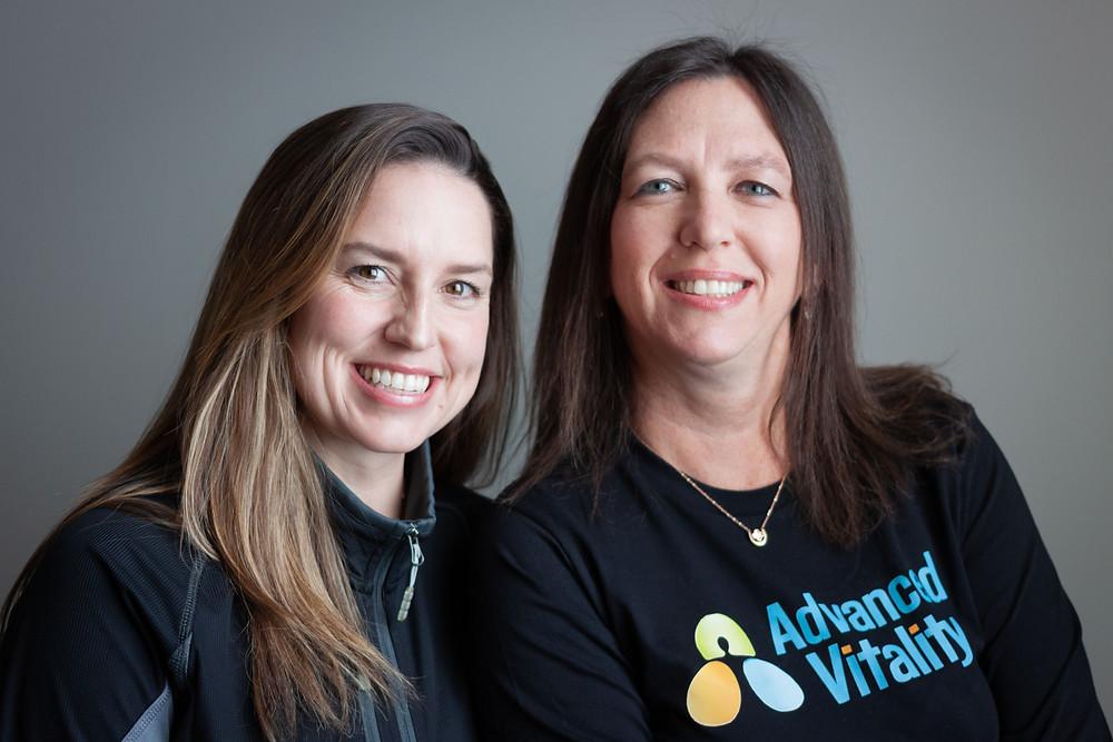 Advanced Vitality Chiropractors Dr. Tara and Dr. Tamara have advanced certification in Prenatal and Pediatric health.