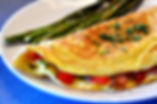 Ideal Protein Ham and Spinach Omelet