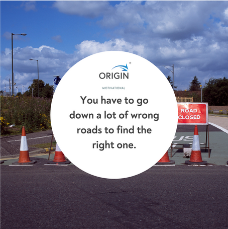 Choose the right road