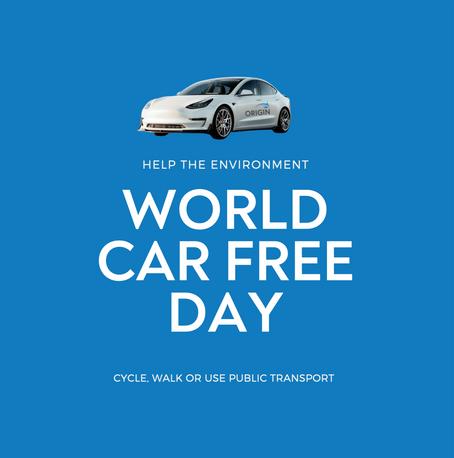 WORLD CAR FREE DAY 2021