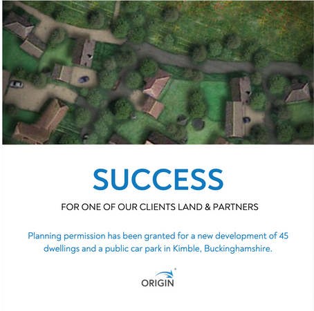 Success for Land & Partners in Kimble, Buckinghamshire