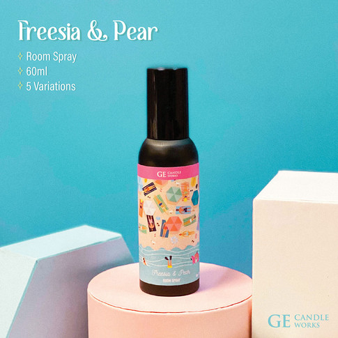 Freesia & Pear