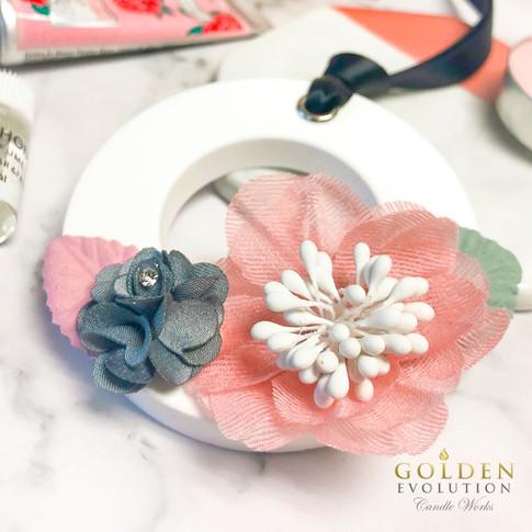 Flower Round Shape Aromatherapy Ceramic Air Freshener Diffuser