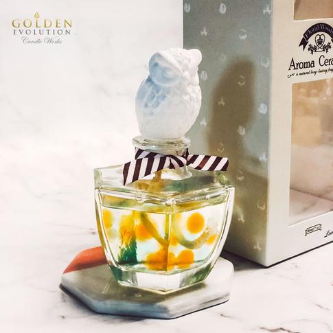 80ml Cute Cartoon Ceramic Diffuser Home Fragrance - OWL