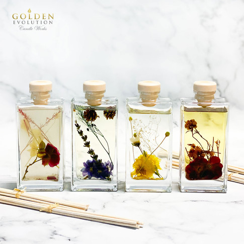 135ml Botanic Essence Reed Diffuser Home Fragrance SET