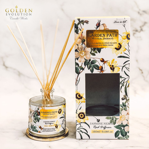 150ml Garden Path Reed Diffuser Home Fragrance - Jasmine Neroli