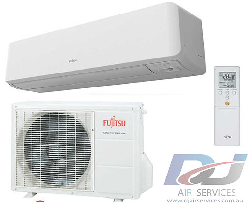 FUJITSU Lifestyle range 6.3kw cool / 7.2kw heat