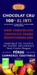 Chocolat noir fleur de sel 70% bio 100g