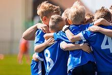 Kids Play Sports. Children Sports Team U