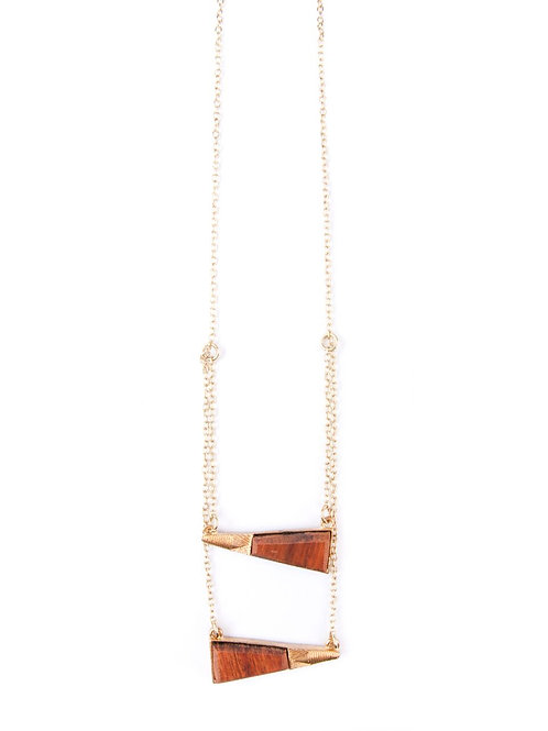 Wooden Ladder Necklace