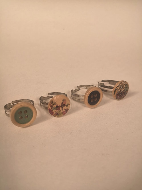 Small Button ring