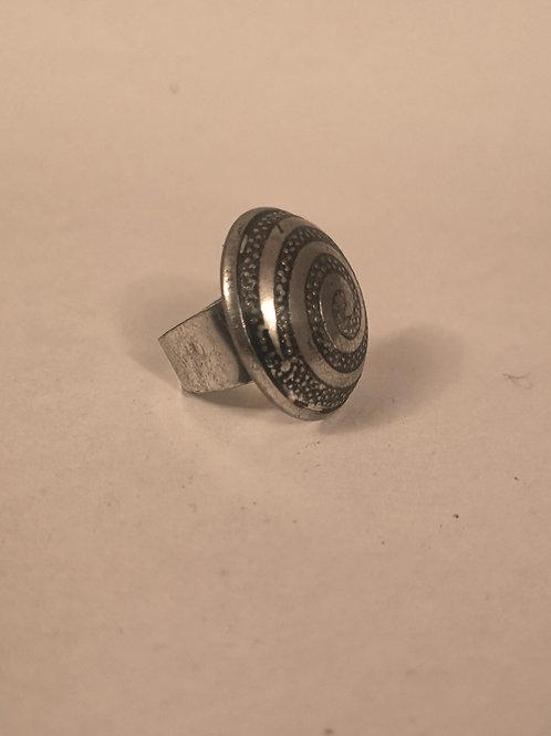 Mandala Circle Ring