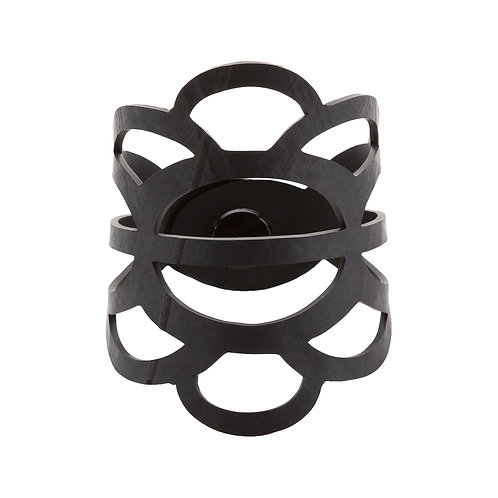 Recycled Rubber Cuff- Clouds