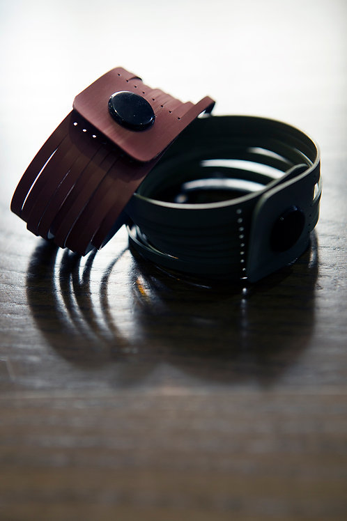 Recycled Printer Belt Cuff