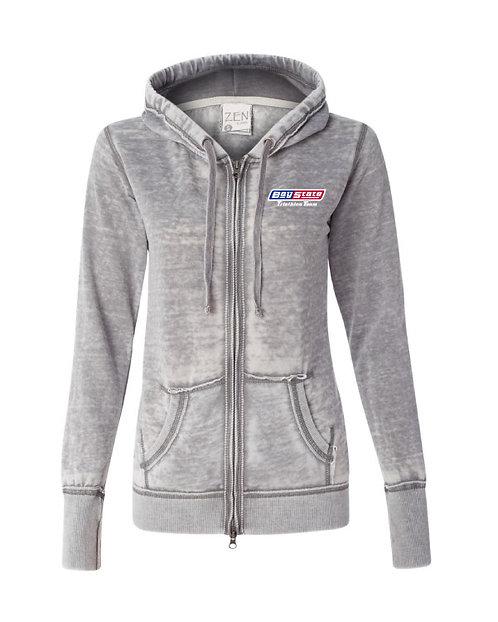 Womens Zen Fleece Ultra Soft Zip Hooded Sweatshirt