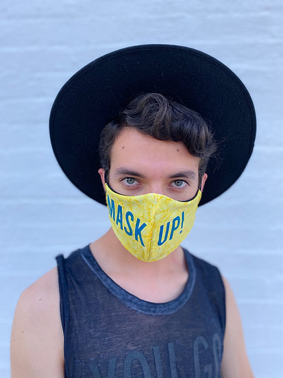 Official MASK UP in Yellow