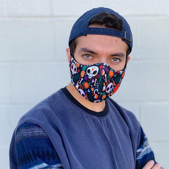 Dia de Muertos Face Mask