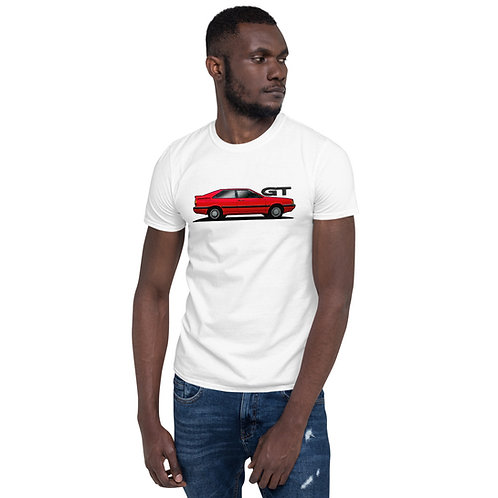 Red Coupe GT Side Tee