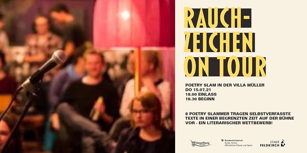 RAUCHZEICHEN ON TOUR - EIN LITERARISCHER WETTBEWERB