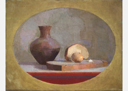 Still Life with Bread and Egg II