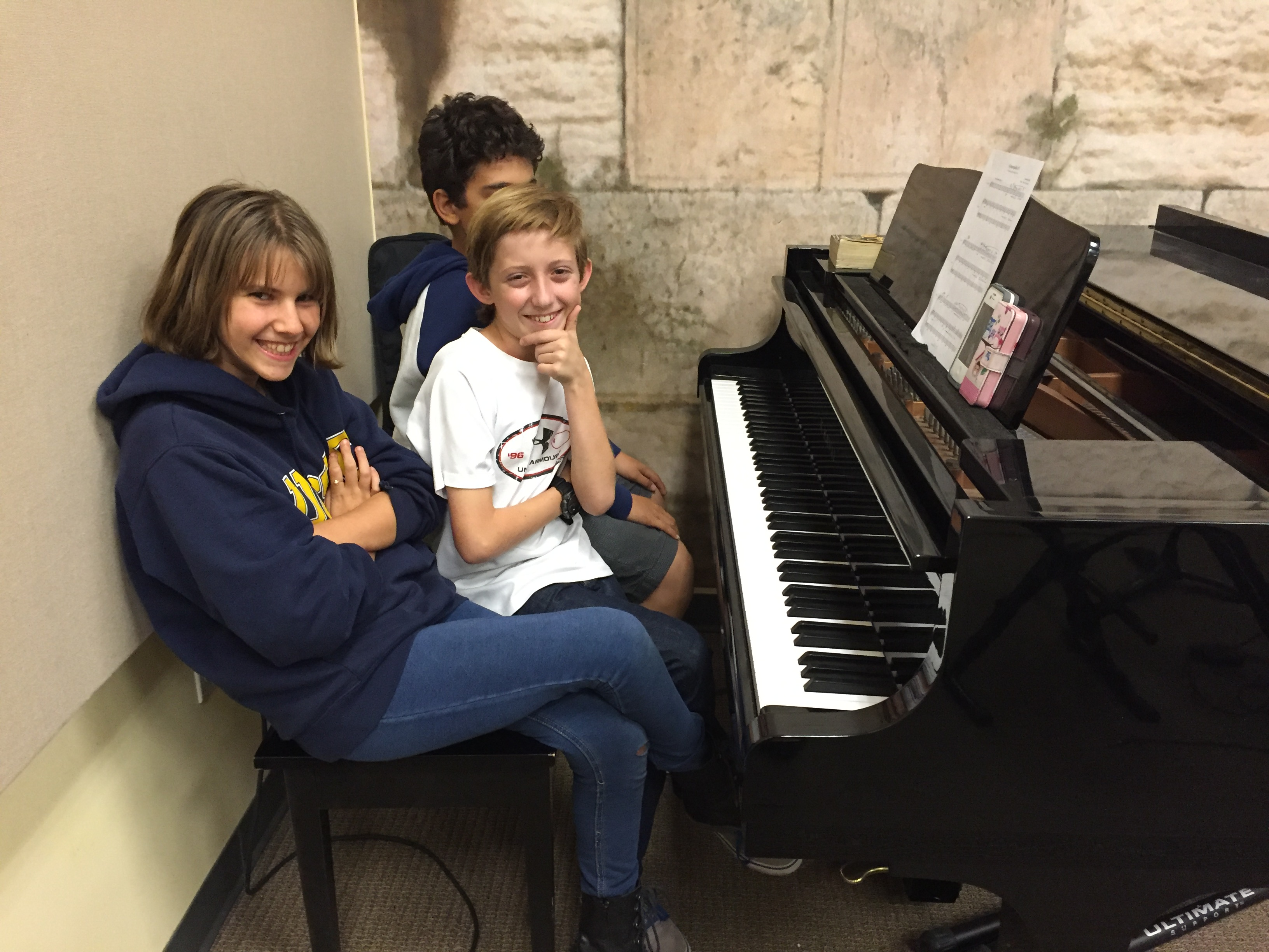 Students at the Zechter Music Center