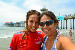 Sally Fitzgibbons at the US Open