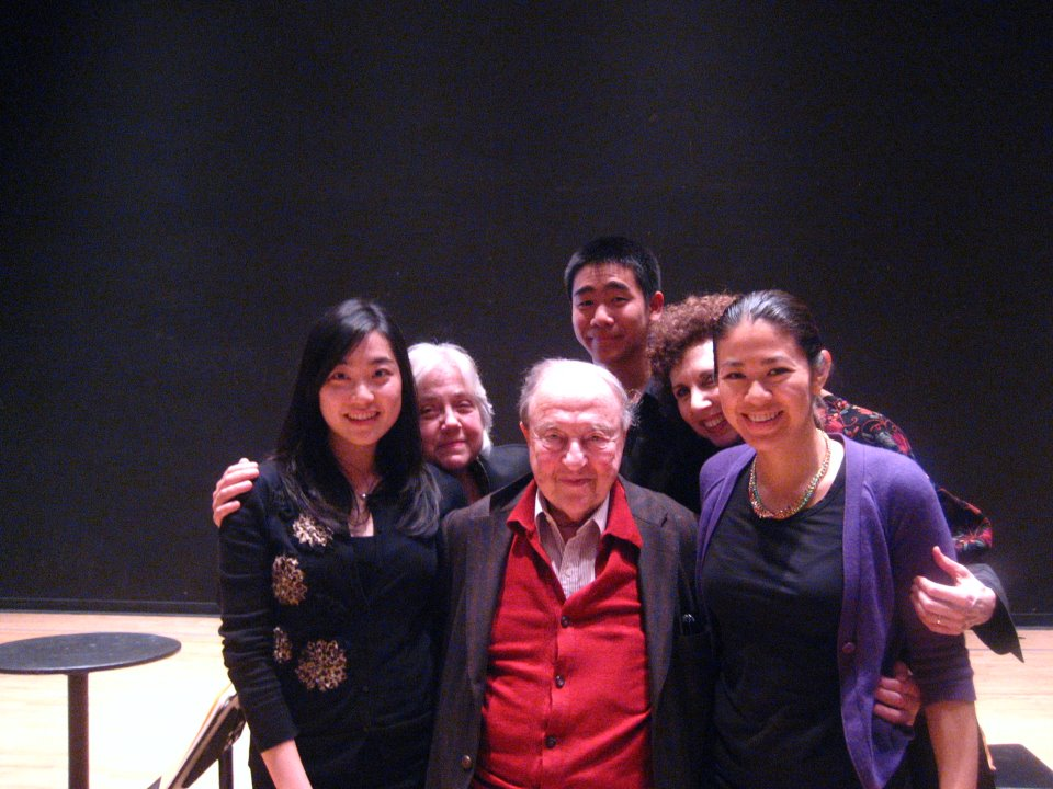 Menahem Pressler at UCI