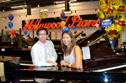 Hollywood Piano Grand Opening