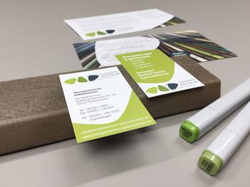 Corporate Design   Visitenkarten Therapiezentrum Gößweinstein