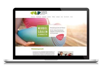 Corporate Design   Webdesign Therapiezentrum