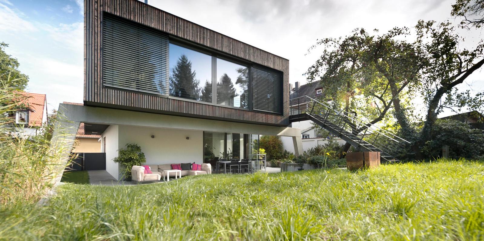 Architekt Erlangen villa in erlenstegen nürnberg grimm architekten bda architekt