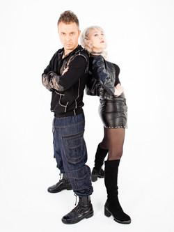 Певица Инесса и Евгений Холмский