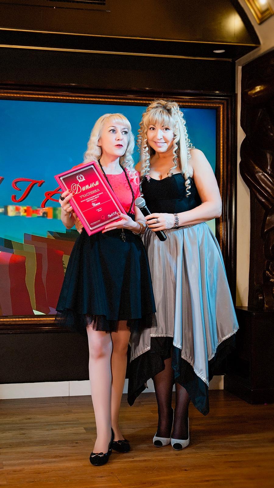 Певица Инесса и Елена Сизова