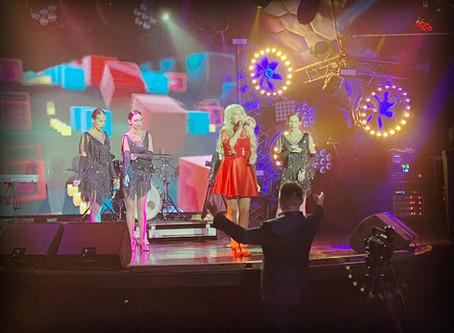 BackStage со съемок для канала Теледом ко Дню Флага России | Inessa - Далеко лето