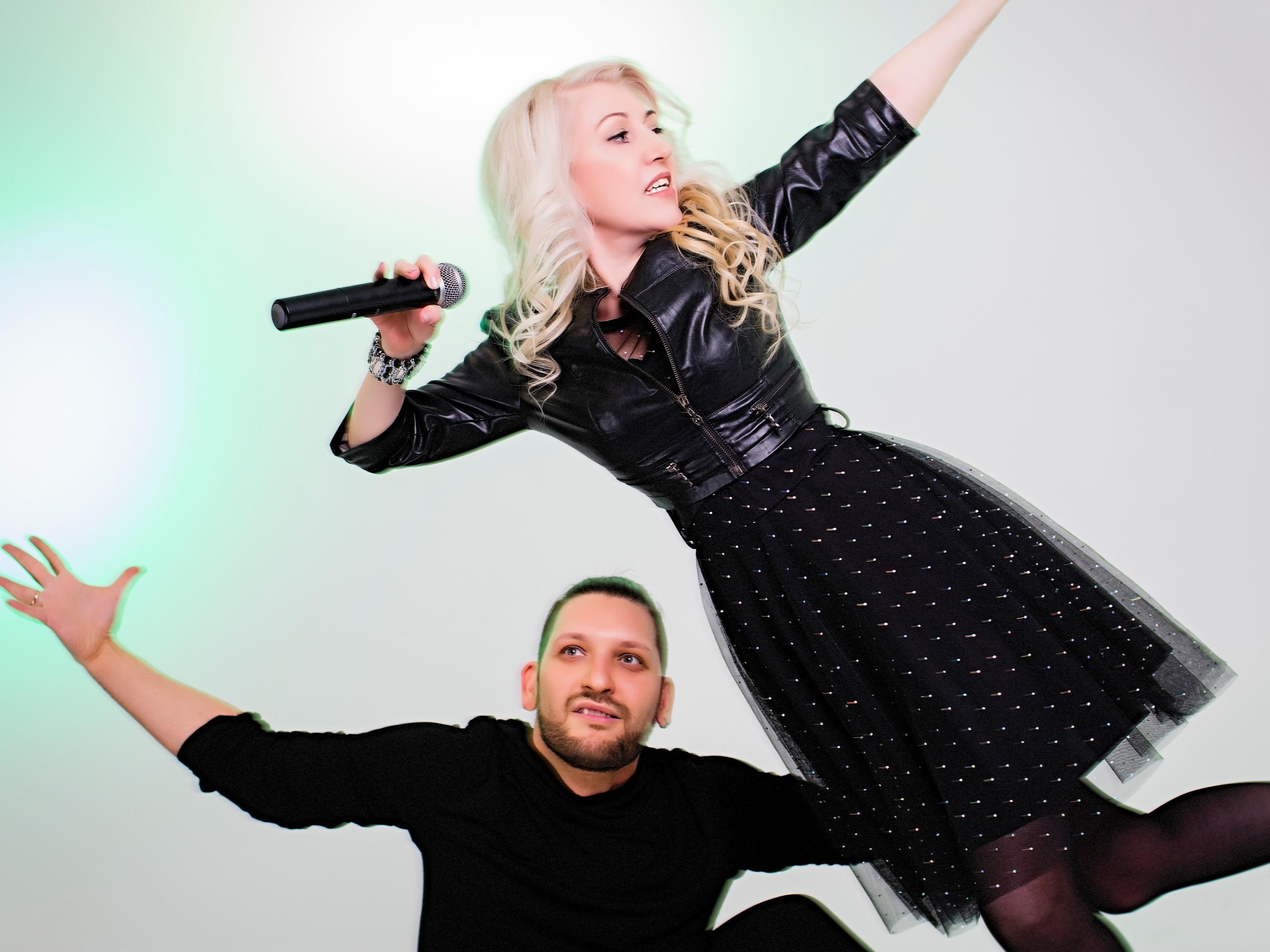 Певица Инесса и Роман Орловский